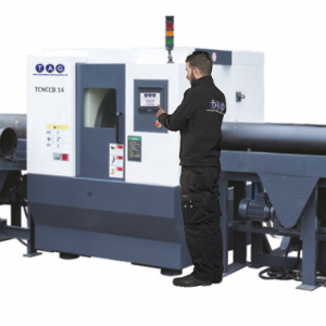 TAG HIGH SPEED CUTTING & BEVELLING MACHINE